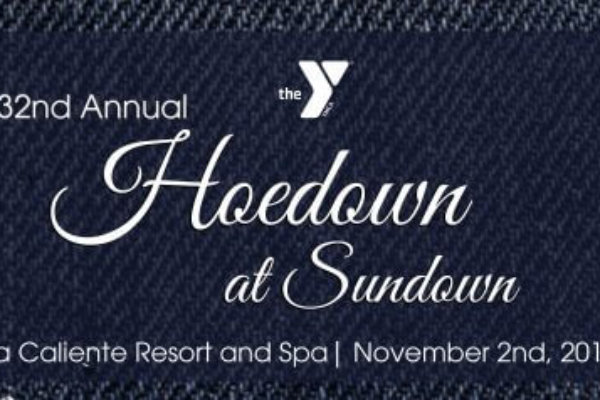 THE YMCA OF THE DESERT ANNOUNCES 32ND ANNUAL HOEDOWN AT SUNDOWN SPONSORED BY COMMANDER ALLEN FUND