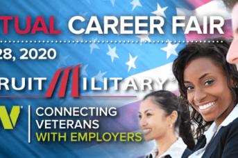 Virtual Career Fair for Military Veterans & Spouses