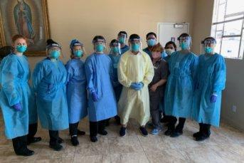 COVID 19 Testing by CV Volunteers in Medicine