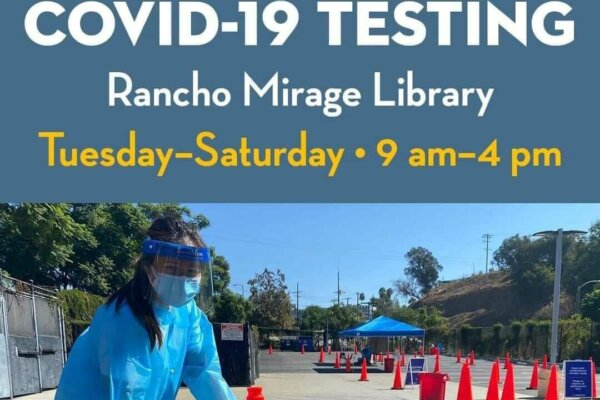 City of Rancho Mirage Offers FREE and Easy Testing