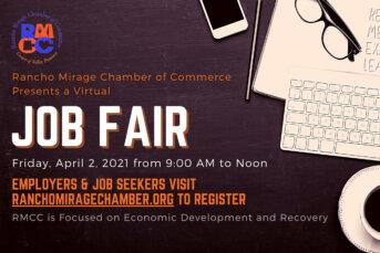 Virtual Job Fair Announced for April 2 @9AM