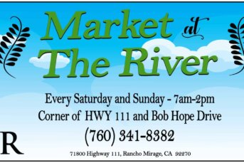 The River at Rancho Mirage introduces season market to showcase local businesses.