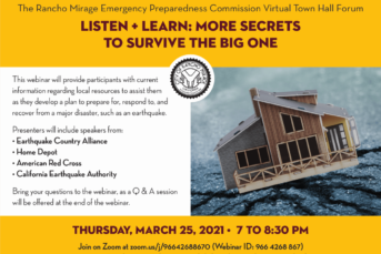 Listen + Learn: More Secrets to Survive the Big One