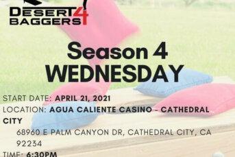 Desert 4 Baggers Cornhole League Kicks-off Season, Donates $5k to the Family YMCA of the Desert