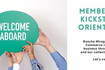 New Member Kickstart Orientation