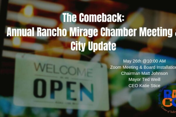 The Comeback: Annual Chamber Meeting & City Update