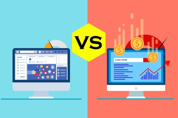 Optimize or Advertise? Comparing Organic vs. Paid Social