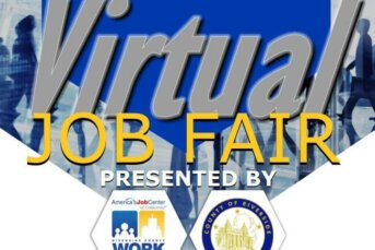 Virtual Job Fair - Presented by Riverside County Workforce Development and County of Riverside