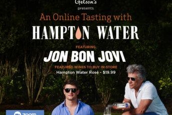 An Online Tasting Event with Jon Bon Jovi